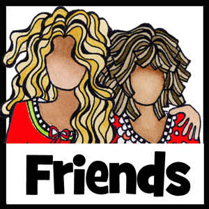 Friend gifts - button