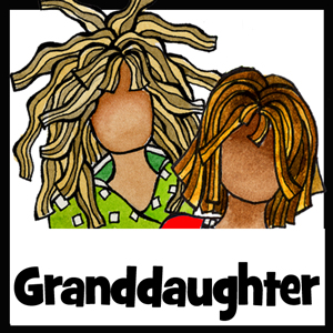 Granddaughter gifts - button