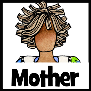 Mother gifts - button