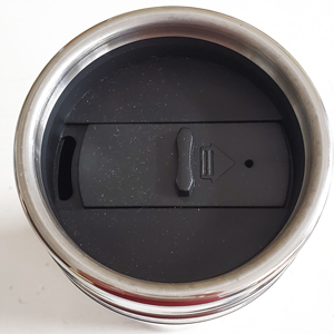 Stainless Steel Tumbler Top view