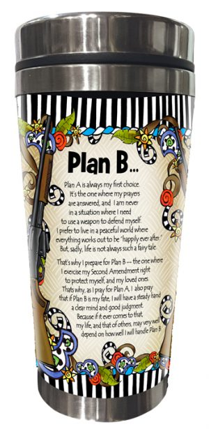 Plan B - Women of Liberty - Stainless Steel Tumber_Back