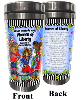 Women of Liberty Stainless Steel tumbler