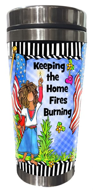 Home Fires Stainless Steel Tumbler - FRONT