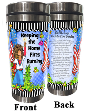 Home Fires Stainless Steel Tumbler