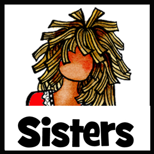 Sister gifts - button