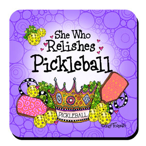 Relishes Pickleball - coaster