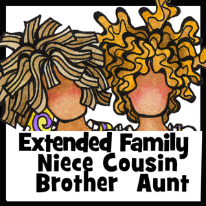 Extended Family - button