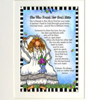 "She Who Found Her Soulmate – 8 x 10 Matted ""Gifty"" Art Print"