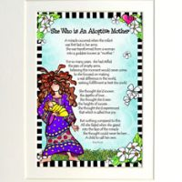 """She Who is An Adoptive Mother – 8 x 10 Matted """"Gifty"""" Art Print"""