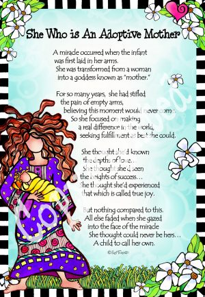 Adoptive Mother - art print