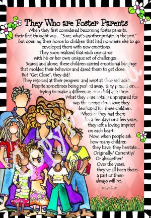 Foster Parents - art print