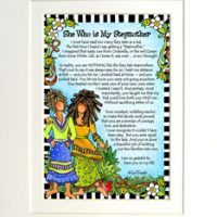 """She Who is My Stepmother – 8 x 10 Matted """"Gifty"""" Art Print"""