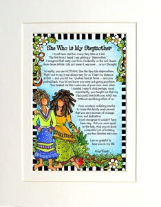My Stepmother - matted art print