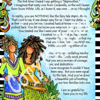 "She Who is My Stepmother – 8 x 10 Matted ""Gifty"" Art Print"