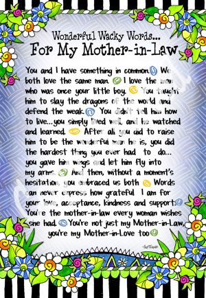 Mother-in-law - art print