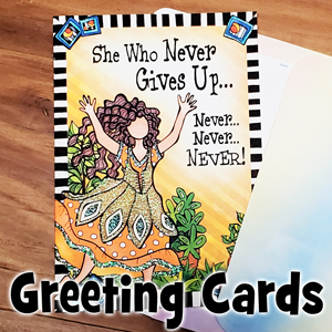 Greeting Cards - button