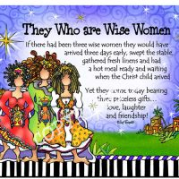 They Who are Wise Women (with story) – (Christmas) Mouse Pad