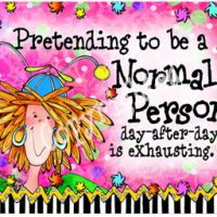 Pretending to be a Normal Person day-after-day is exhausting – Mouse Pad