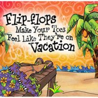 Flip-flops Make Your Toes Feel Like They're on Vacation – Mouse Pad