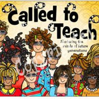 Called to Teach nurturing the minds of future generations – Mouse Pad