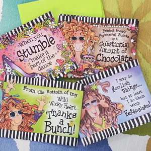 Assorted Note Cards Pack #2