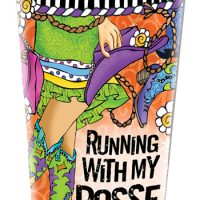 Running With My Posse (TingleBoots) – Stainless Steel Tumbler