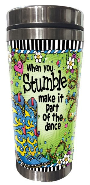 Stumble - Stainless Steel Tumbler - FRONT