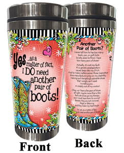 Another Pair of Boots - Stainless Steel Tumbler