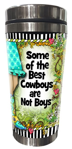 Best Cowboys - Stainless Steel Tumbler - FRONT