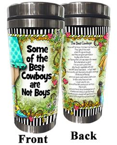 Best Cowboys - Stainless Steel Tumbler