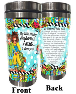 Aunt Stainless Steel tumbler