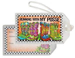 Posse - bag tag