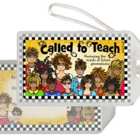 Called to Teach nurturing the minds of future generations – Bag Tag