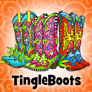 TingleBoots - button