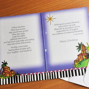 Wise Women greeting Card - inside