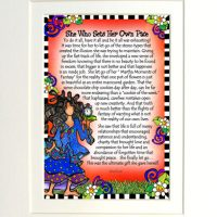 "She Who Sets Her Own Pace – 8 x 10 Matted ""Gifty"" Art Print"