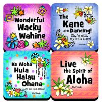 Hula is Life (4 pack) – (Hula is Life) Coaster