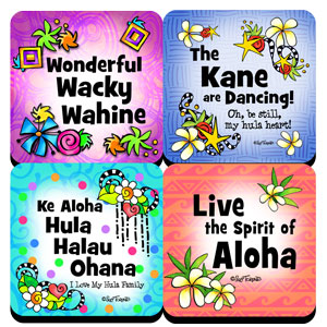 Hula is Life coaster collection