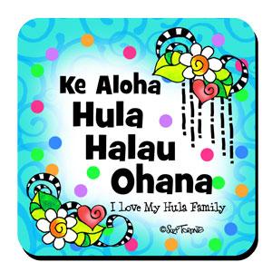 Hula Halau Ohana coaster