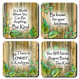 Be Kind Coaster set