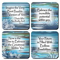Best Possible Version of You – (Kukana) Set of 4 Coasters