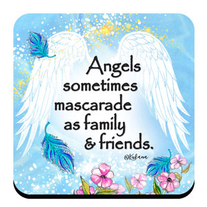 Angels Among Us - Coaster