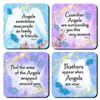 Angels Among Us – (Kukana) Set of 4 Coasters