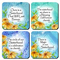 Ours is a Sisterhood – (Kukana) Set of 4 Coasters