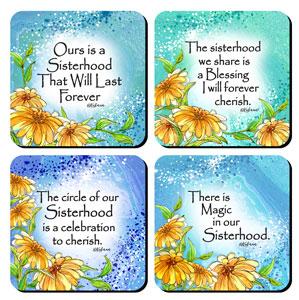 Sisterhood - Coaster set