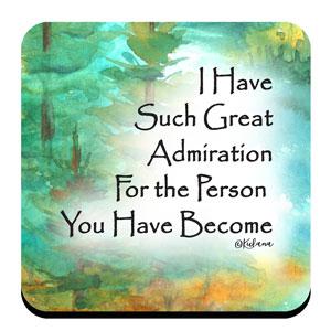 Admiration - Coaster