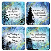 Magnificence – (Kukana) Set of 4 Coasters
