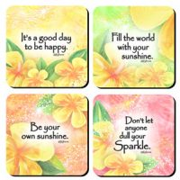 Be Your own Sunshine – (Kukana) Set of 4 Coasters