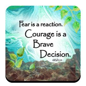 Courageous - Coaster