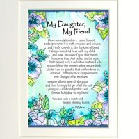 "My Daughter, My Friend – (Kukana) 8 x 10 Matted ""Gifty"" Art Print"